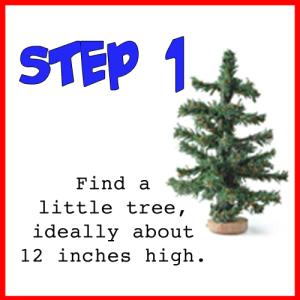 Christmas Tree instructions 1
