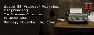 Writers Workshop 11-16