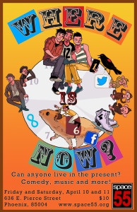 Where is Now Website Poster