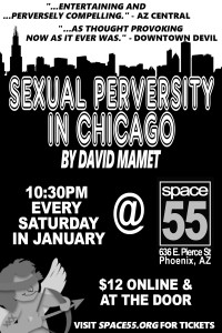 Sexual Perversity In Chicago Flyer 2