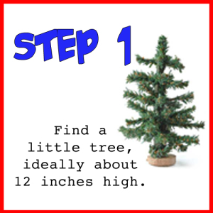 Christmas Tree instructions 1